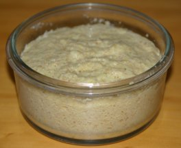Myatt Bread - mixed and ready for the microwave
