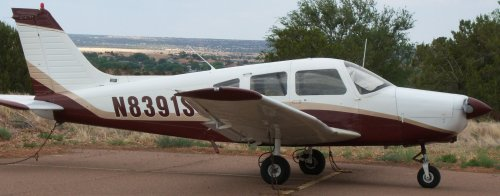 Piper Warrior II Private Airplane