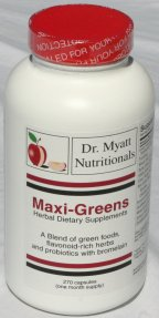 Maxi Greens Complete Daily Plant Food Phytonutrient Formula